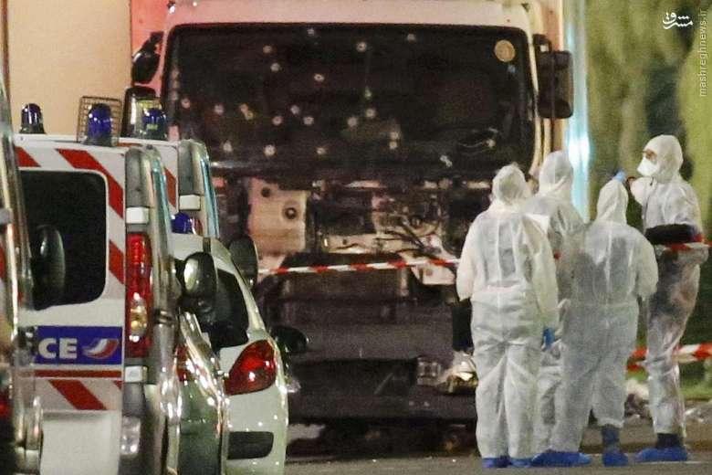 حمله تروریستی به جشن ملی در «نیس» فرانسه/ آمارهای از حداقل 73 کشته و 120 زخمی حکایت دارد +تصاویر و فیلم