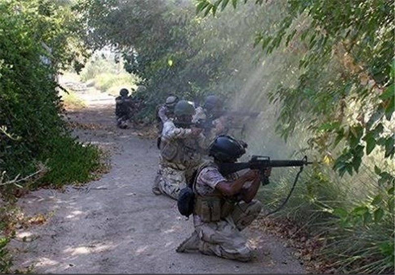 پیشروی ارتش سوریه در حومه غربی دمشق