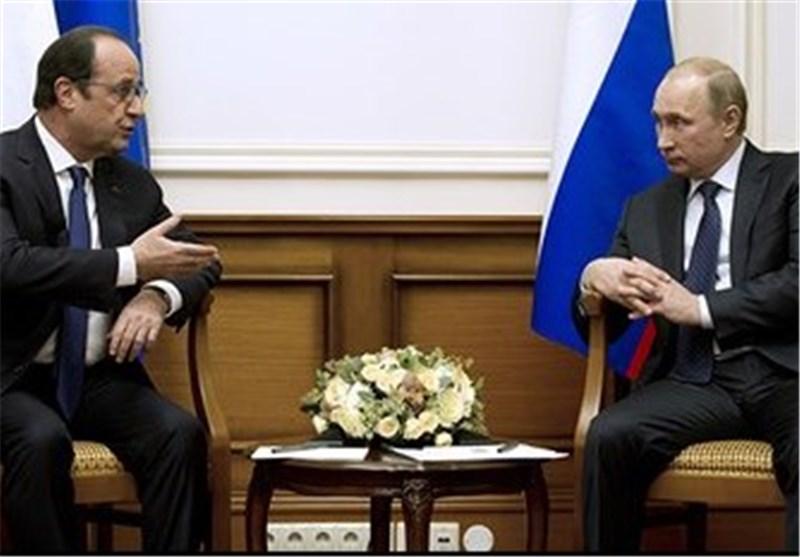 پوتین به اولاند تسلیت گفت