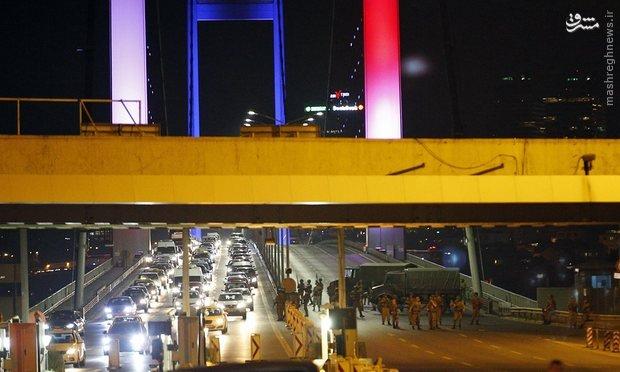 کودتا در ترکیه/ تانک ها و هلیکوپترهای نظامی در پایتخت ترکیه +عکس