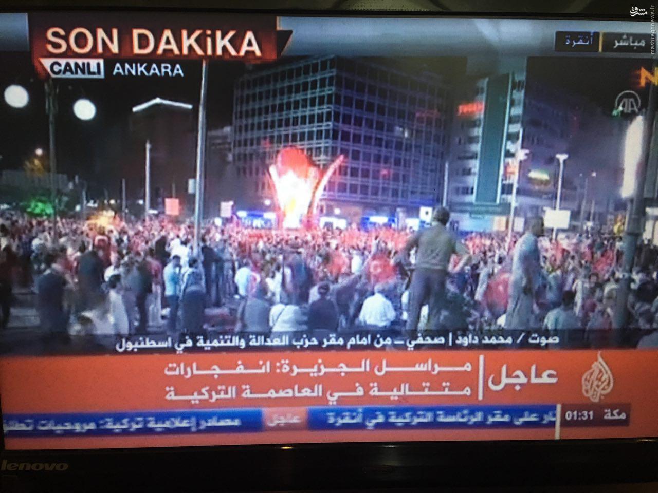 كودتا در تركيه/ اردوغان از مردم خواست به خیابانها بریزند/ تلویزیون و فرودگاهها در تصرف کودتاچیان/ انتشار اولین ویدئو از اردوغان + تصاویر و فیلم