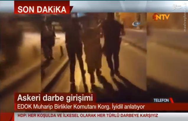 دستگیری نظامیان کودتاچی در ترکیه+عکس و فیلم