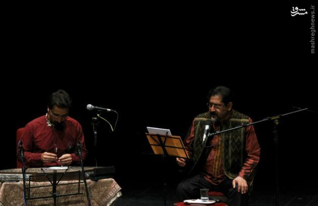 عکس/ عراقچی و ظریف مهمان کنسرت سراج