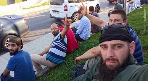 مشارکت عناصر داعش در سرکوب کودتاچیان ترکیه+عکس