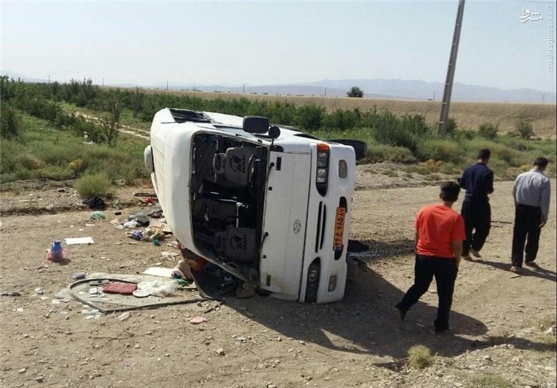 آخرین وضعیت دانش آموزان زنجانی؛۱کشته و ۱۹ مصدوم +عکس