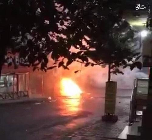 درگیری های شدید در محله علوی نشین آنکارا+عکس