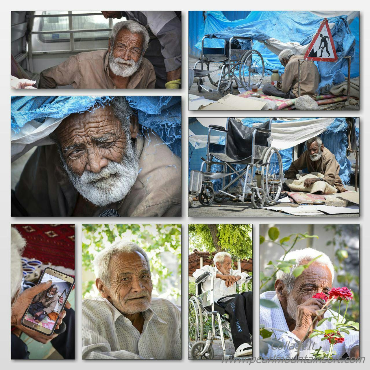 امام رضا(ع) دست «حاج حسن» را گرفت +عکس