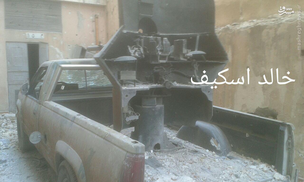 پیشروی ارتش سوریه در منطقه للیرمون حلب+فیلم و عکس