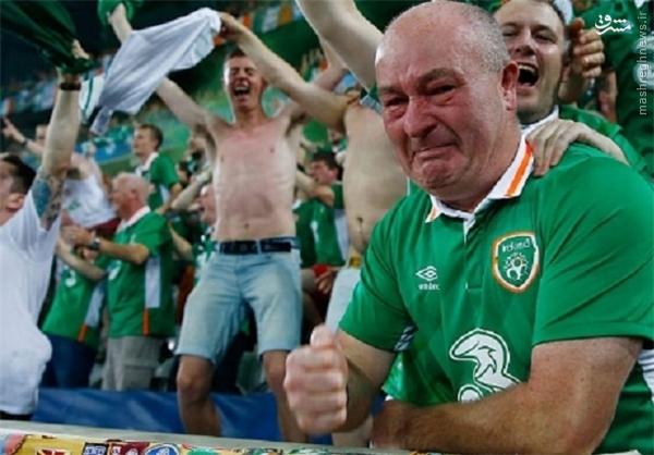 عکس/ اشک ایرلندیها درآمد