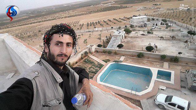 قصر خلیفه داعش در سوریه + عکس