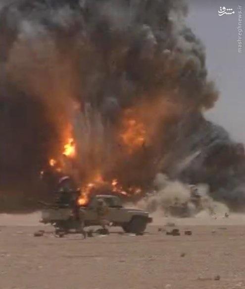 لحظه کشته شدن افسر روس در تدمر سوریه+عکس