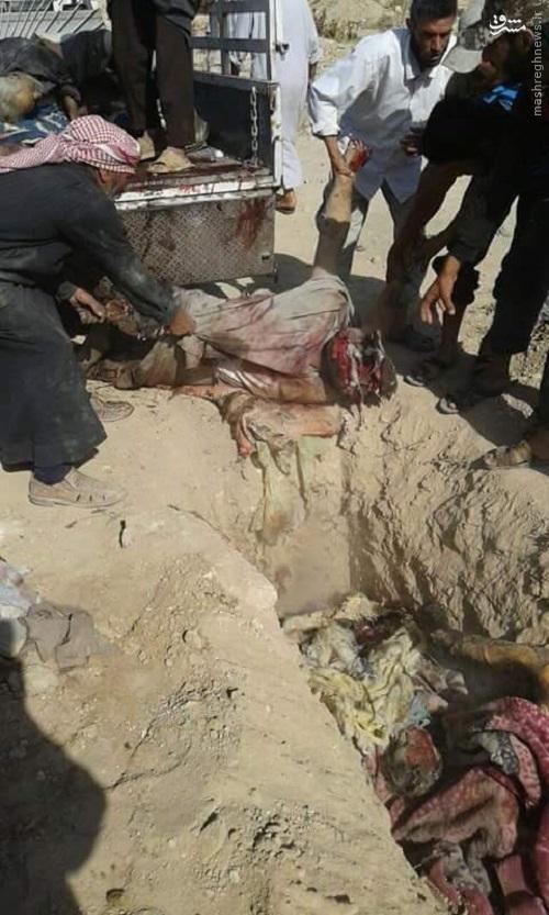 قتل عام روستائیان سوری توسط آمریکا+عکس