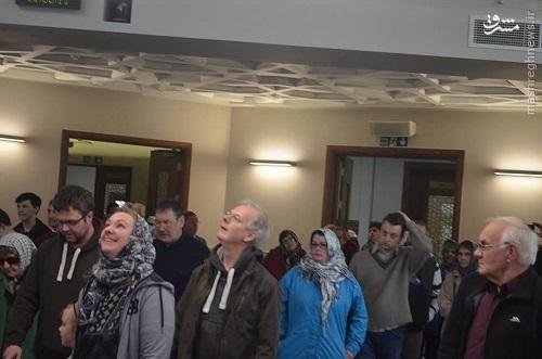 افتتاح مسجد جدید سعودی ها در لندن+عکس