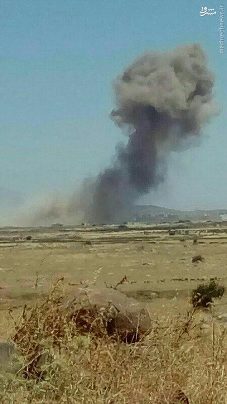 اسراییل مجددا به سوریه حمله کرد؟+عکس