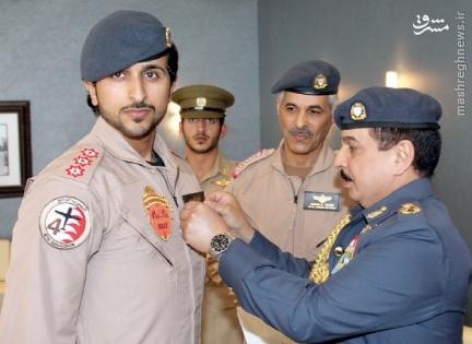 بیعت شاهزاده بحرینی با داعش+عکس