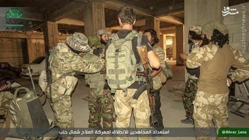 تار و مار شدن احرارالشام در حلب+عکس