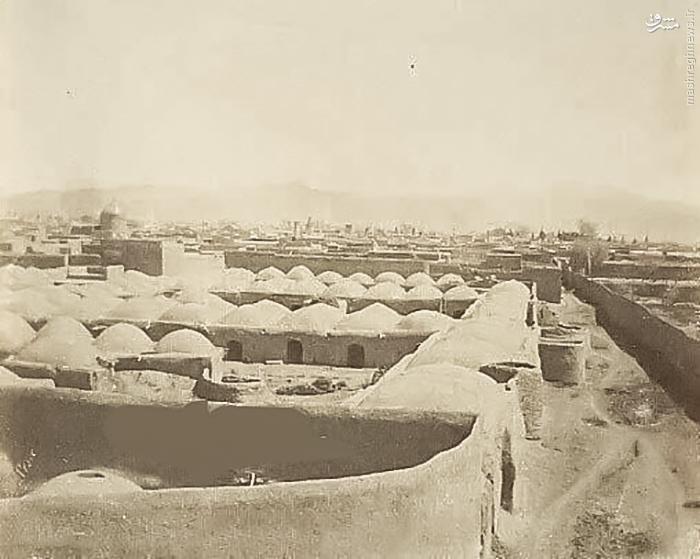 عکس/ قدیمیترین عکس از تهران