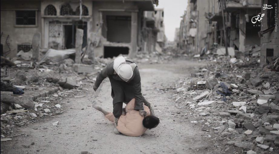 اعدام سه نفر در حمص سوریه توسط داعش+عکس
