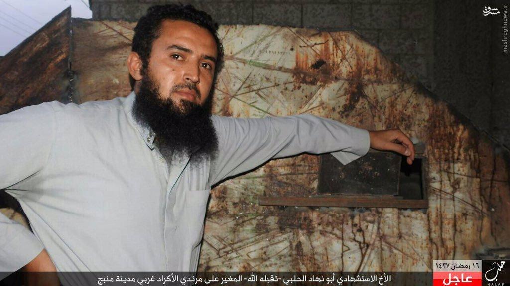 جشنواره انتحاری های داعش در شمال حلب+عکس