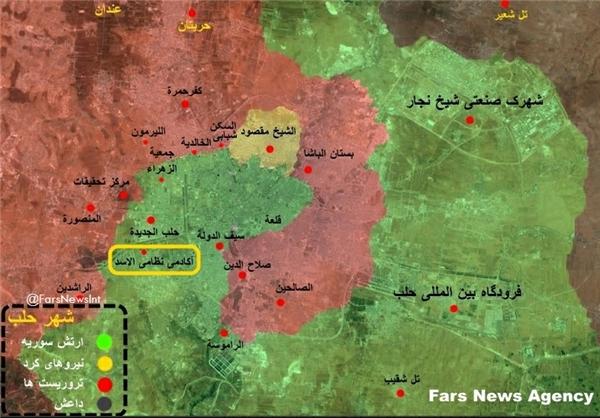 آغاز عملیات ارتش سوریه در حلب