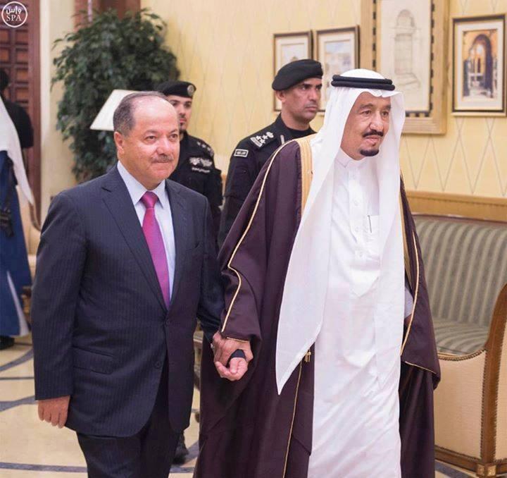 دست در دست سعودی