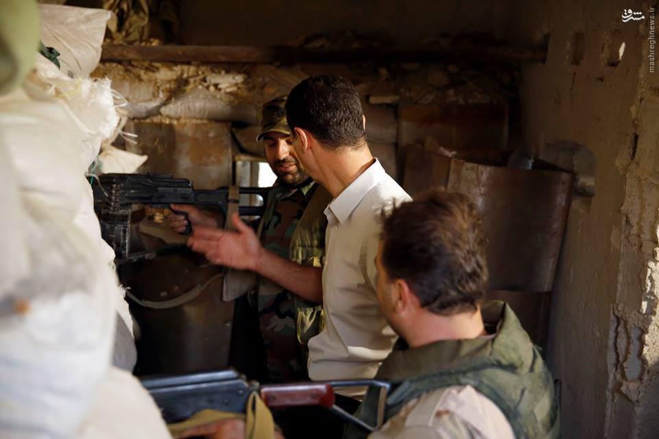 حضور غافلگیر کننده بشار اسد در مرج السلطان/پای ارتش روی گلوی تروریستهای غوطه شرقی/حمله گسترده ارتش به محلات شمالی و مرکزی حلب/ورود کردها به محلات منبج/اعدام فجیع 5 خبرنگار بدست داعش/آماده انتشار