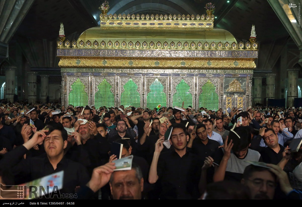 عکس/ احیای شب 21 رمضان در گوشه و کنار ایران