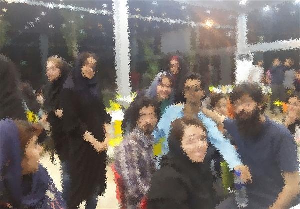 برگزاری افطاری مختلط در دانشگاه امیرکبیر +تصاویر