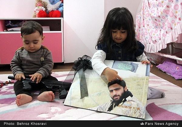 آخرین سفارشهای شهید مدافع حرم رضا حاجیزاده +تصاویر