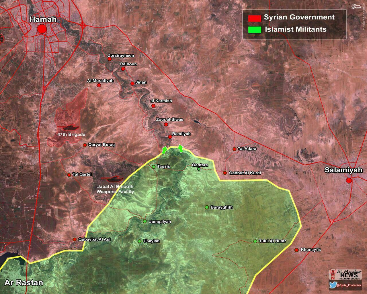 هلاکت فرمانده ارشد القاعده در حماه+عکس