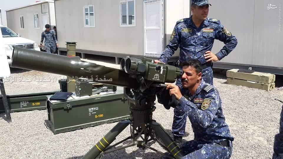آموزش پلیس عراق با موشک ضد زره ایرانی+عکس