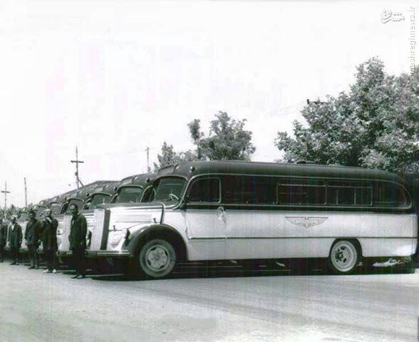 عکس/ اولین اتوبوسهای شرکت واحد