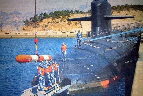 انتشار تصویر زیردریایی سری چین