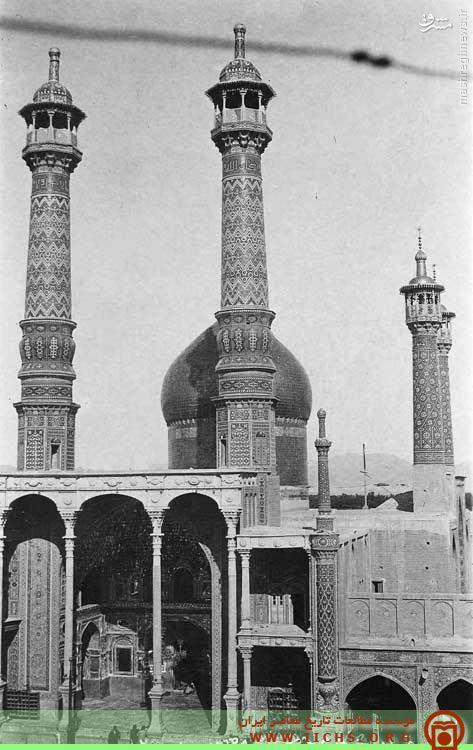 عکس/ حرم حضرت معصومه (س) در دوره قاجار