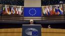 سخنرانی صریح محمود عباس در پارلمان اروپا + عکس و فیلم