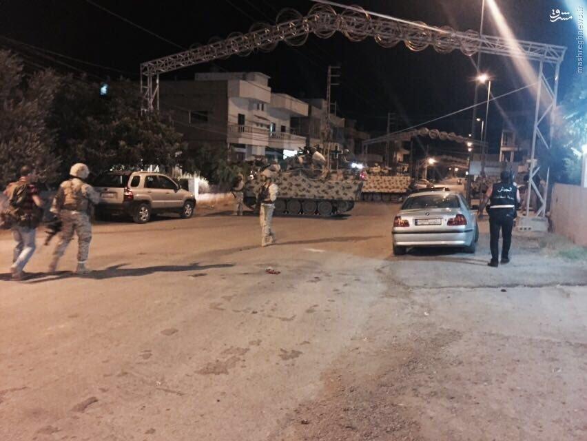 استقرار گسترده رزمندگان حزب الله در القاع+عکس