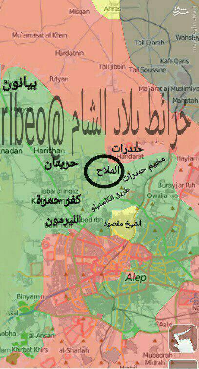 فیلم/نبردهای تن به تن در شمال حلب