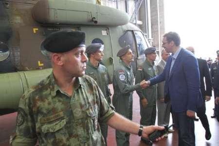 تجهیز ارتش صربستان دو فروند بالگرد+عکس