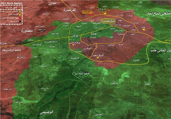 کاستیلو؛ شاهراه امدادی تروریستها به داخل حلب