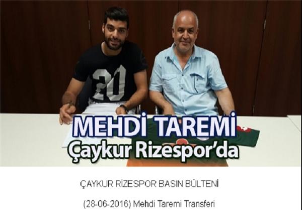 بازتاب حضور طارمی و رضاییان در رسانههای ترکیه +عکس