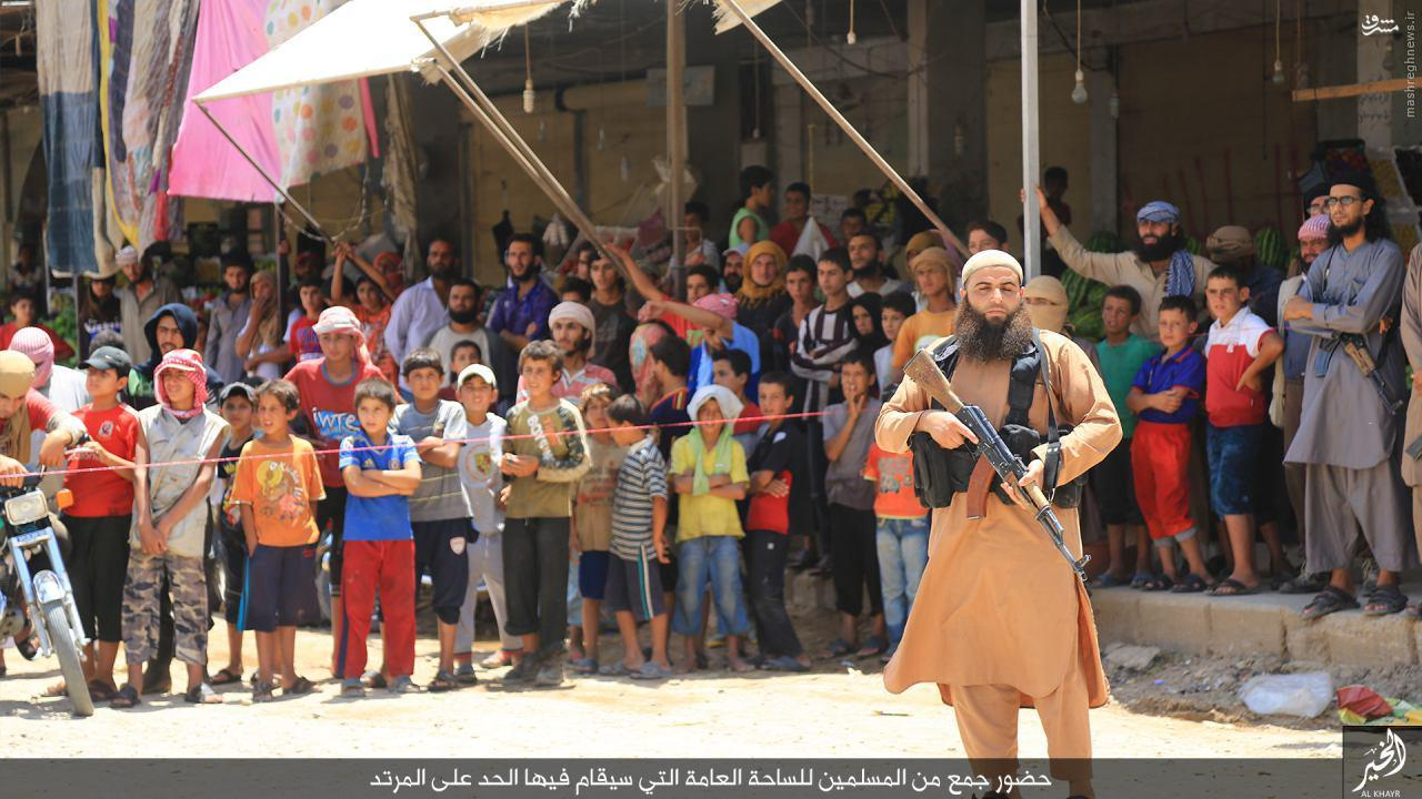 اعدام دو شهروند سوری توسط داعش+عکس