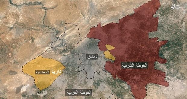 عکس/هلاکت فرماندار نظامی تروریستها در غوطه دمشق