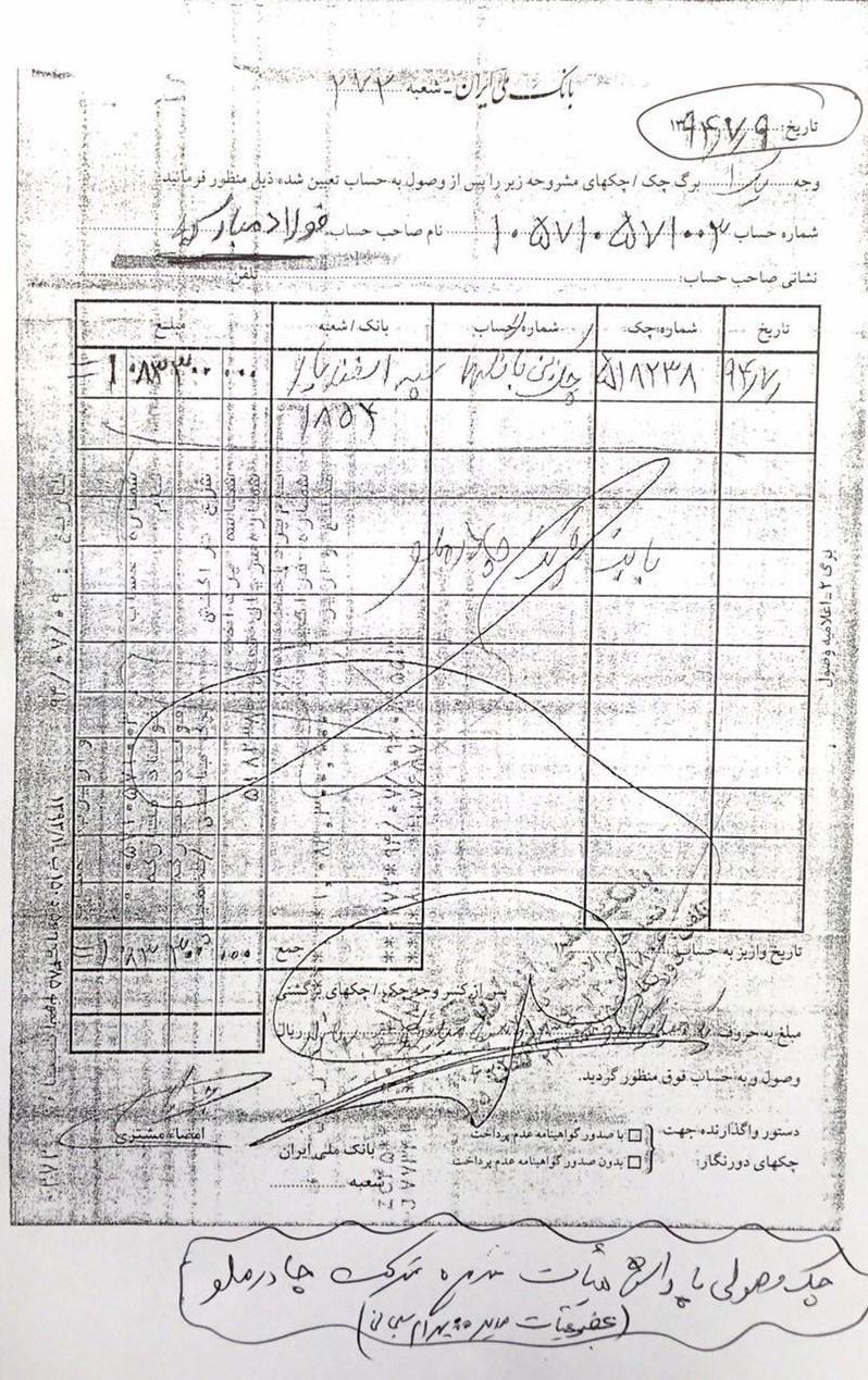 حقوق کارگران فولاد مبارکه چقدر است مدیرعامل فولادمبارکه حقوق ۱۹۶ برابری خود را تکذیب کرد +اسناد