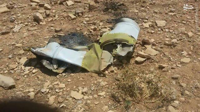سقوط هواپیمای ارتش سوریه در حلب+عکس