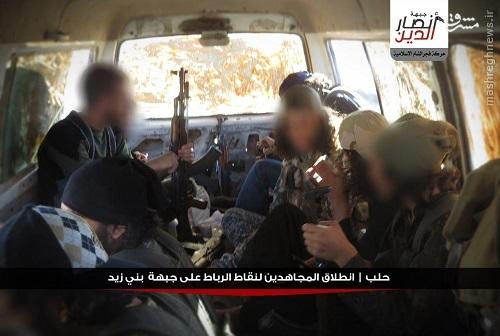 مشارکت تروریستهای بین المللی در نبردهای حلب+عکس