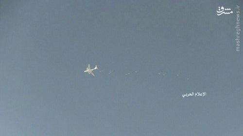 امدادرسانی هوایی روسیه به دیرالزور+عکس