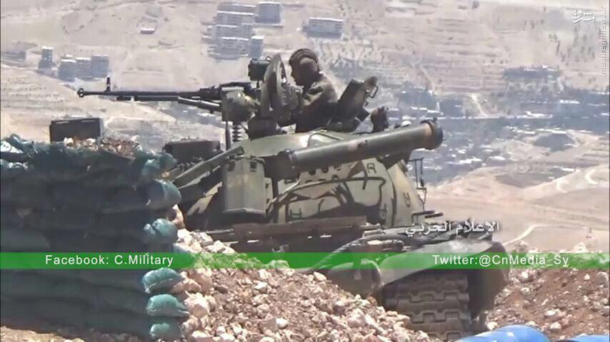 سیطره ارتش سوریه بر هریره دمشق+عکس