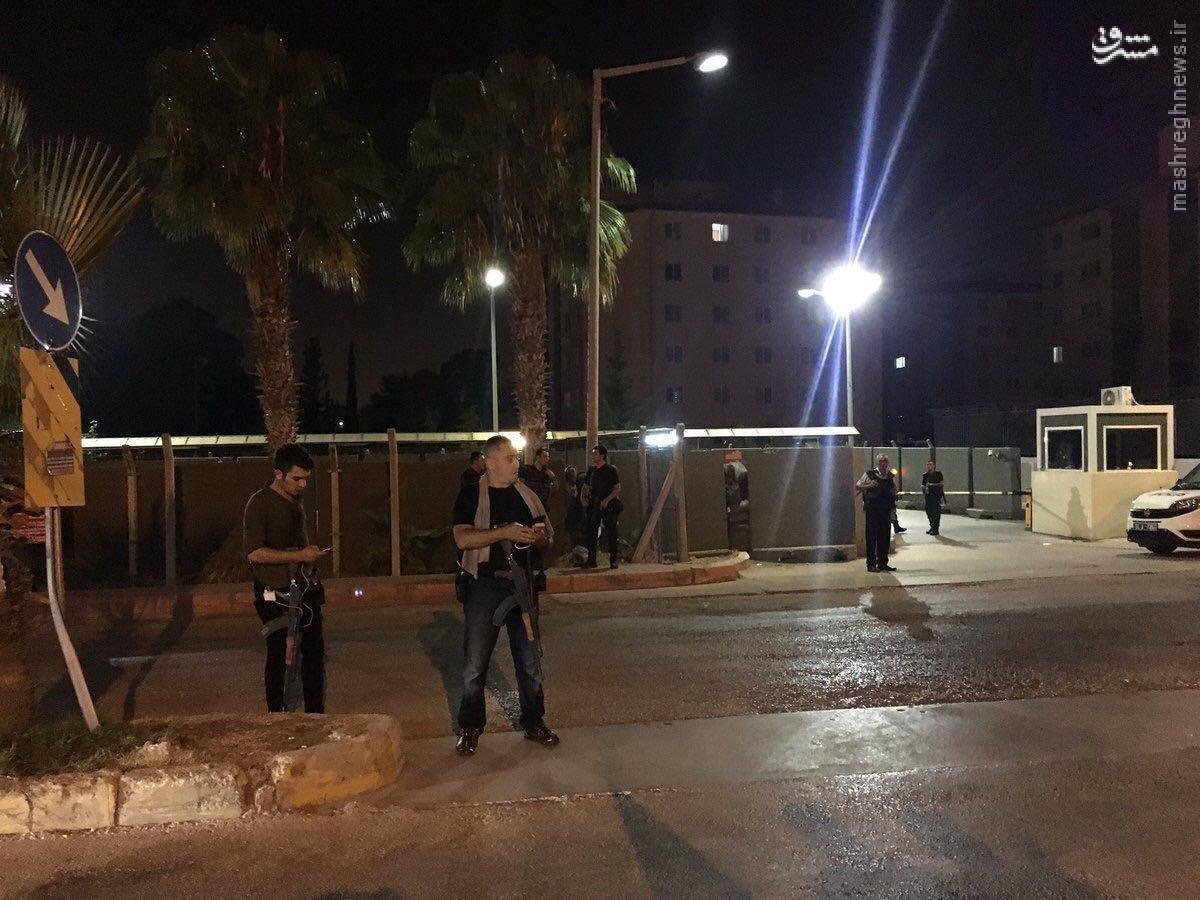 محاصره پادگان اینجرلیک ترکیه+عکس
