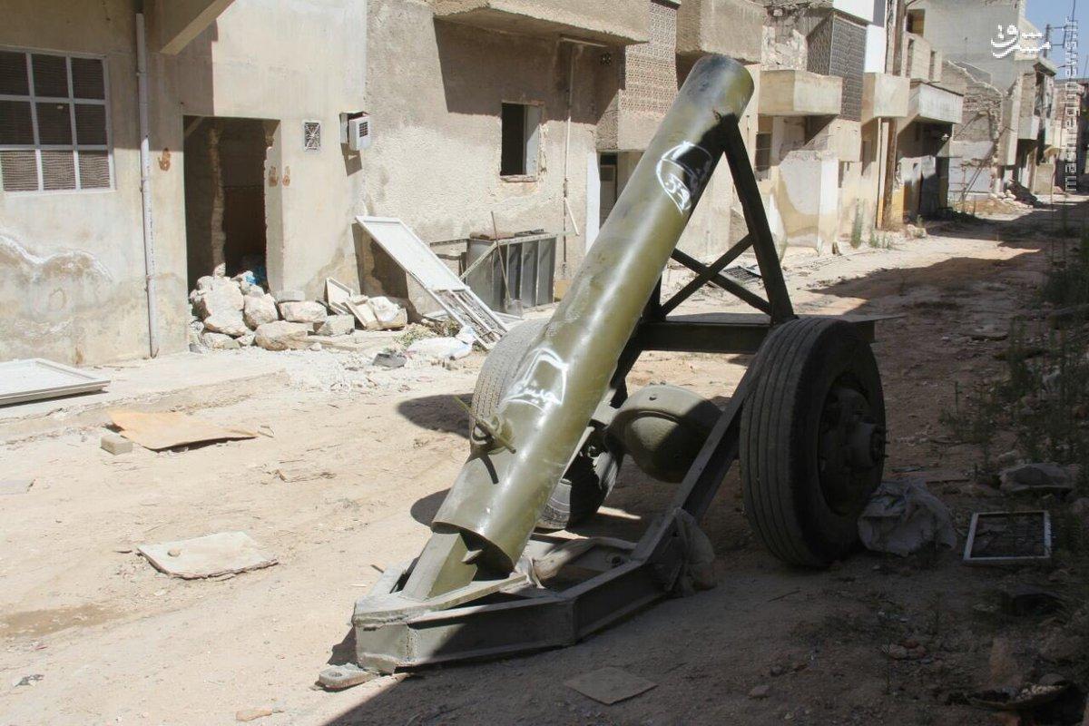 تسلیحات ترکیه و آمریکا در انبار تروریستهای تکفیری+عکس
