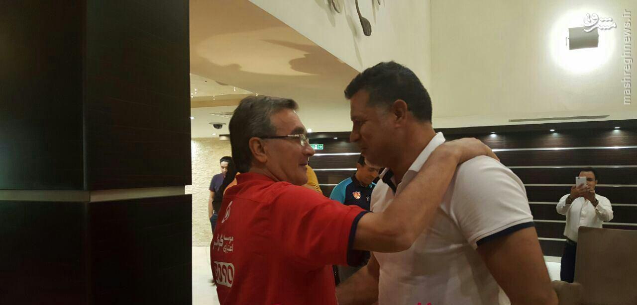 عکس/ دیدار برانکو و علی دایی در هتل